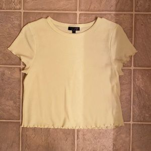 3 for $15! Top shop Waffle Crop Top